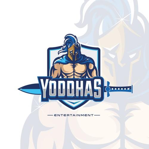 Yoddhas Entertainment Cinematic Logo