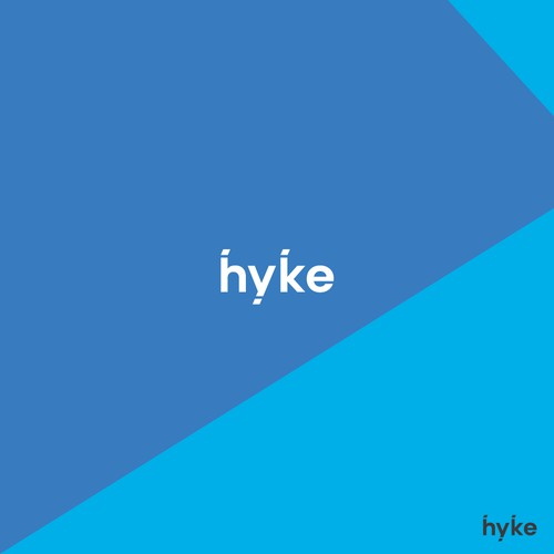 Hyke - modern, neat and eye-catching logo for the next big thing