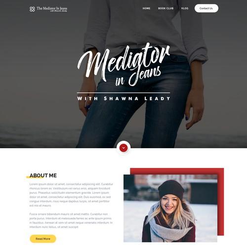 Help give mediatorinjeans.com a new look.