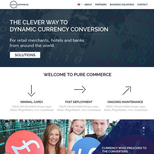 Money Conversion Website