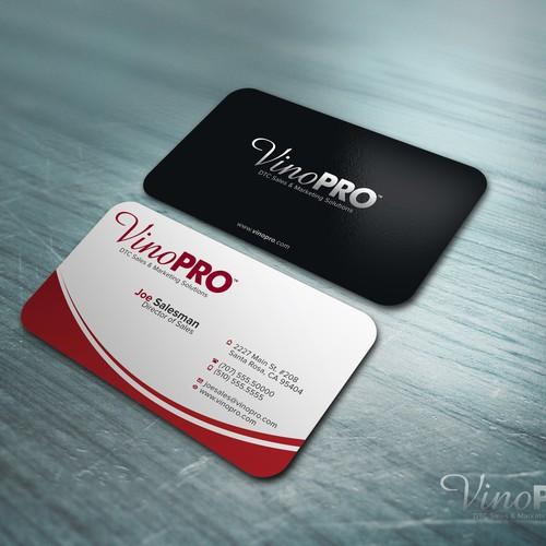 stationery for VinoPRO