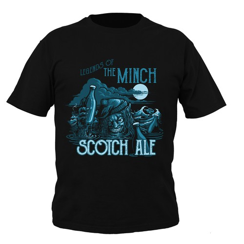 Scottish mythology Beer tshirt