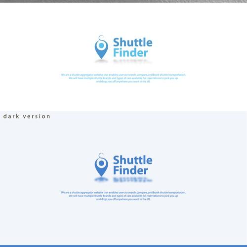 Shuttle Finder logo design