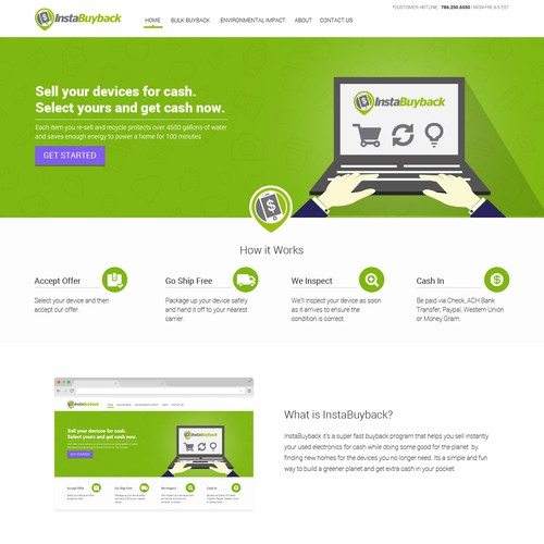 Create a WOW winning landing page for an innovative startup