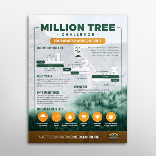 Million tree flyer