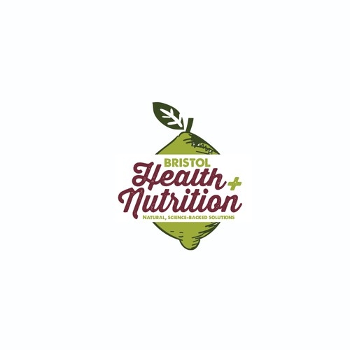 health and nutrition logo design