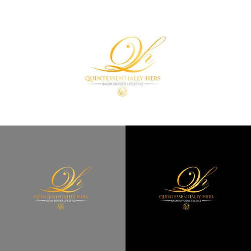 Luxury logo design for Quinressentialy Hers