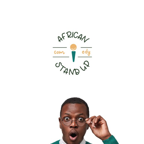 Logo and brand guidelines for stand-up comedy club in South Africa
