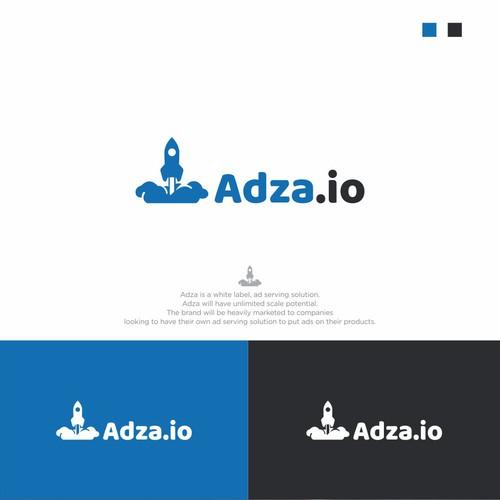 adza.io logo design