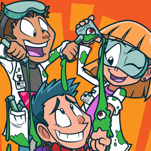 Illustration for Gross Science Party