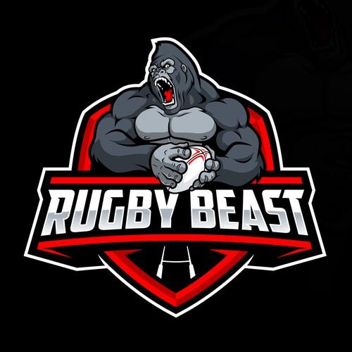 Rugby Beast Logo