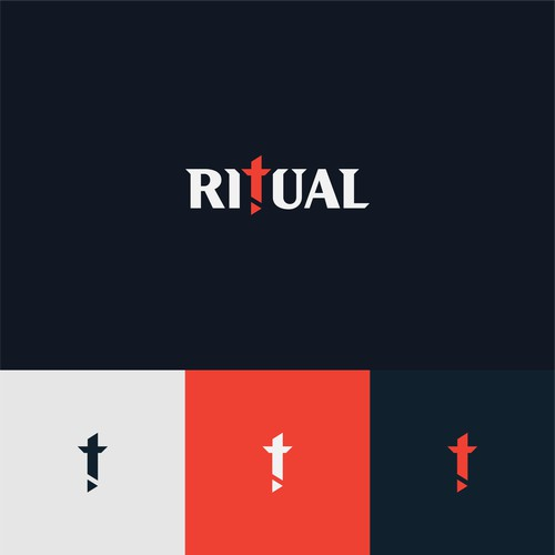 Bold logo concept for a video production company.