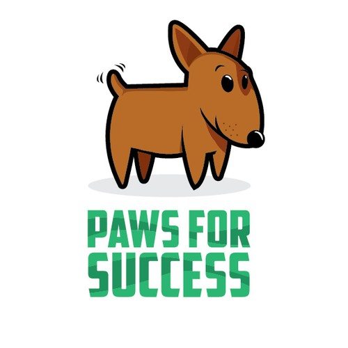 Need a fun original logo for Paws for Success, new dog training and dog sitting company