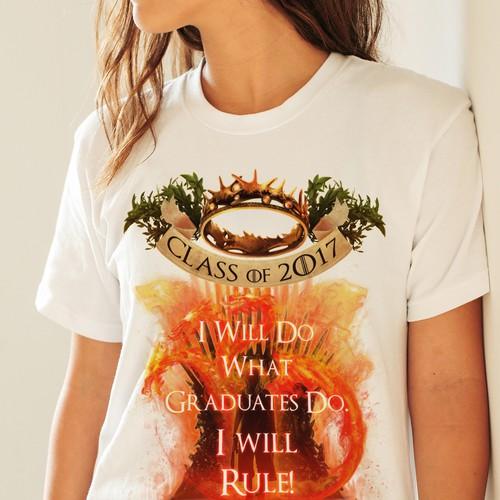 Game of Thorne Graduation T-Shirt