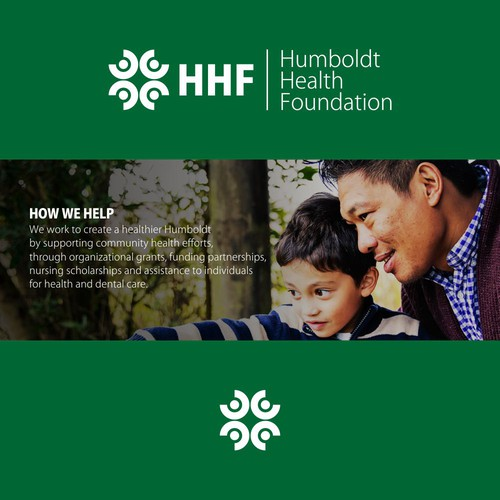 Logo for Humboldt Health Foundation