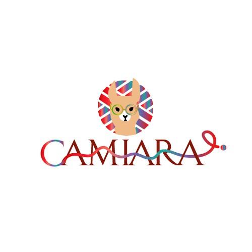 Logo for alpaca clothing brand