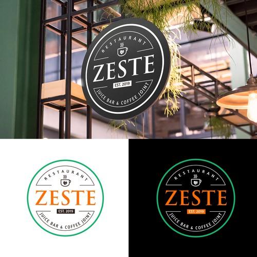 Zeste Logo Design