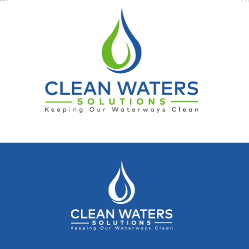Logo creation for an environmental products company focusing on keeping our waters clean.