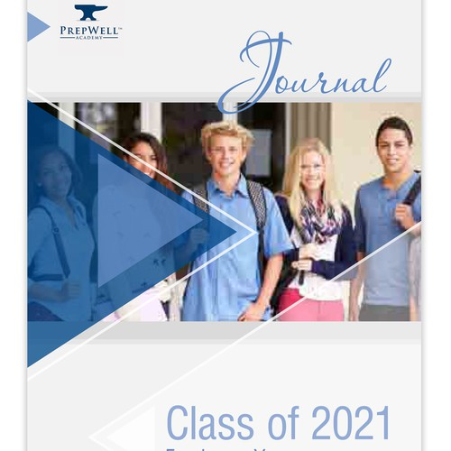 Front cover and Layout for a student journal