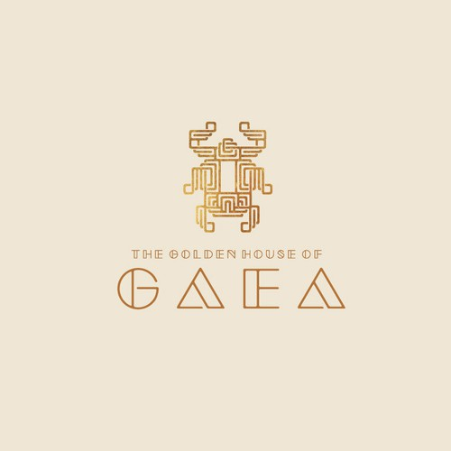 Luxuriant logo concept for a High-End Fashion House