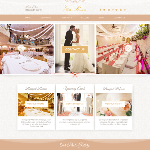 Wedding Venue Needs World Class Website