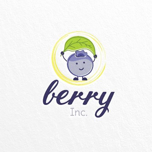 Hand-made logo for Berry Inc.