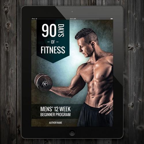men's fitness magazine/eBook cover