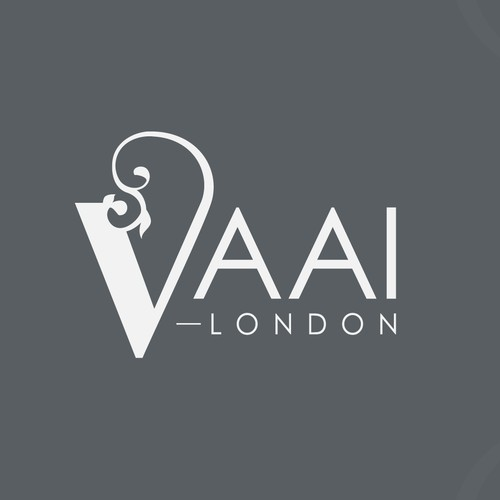 Edgy yet Elegant Logo design for a fashion designer