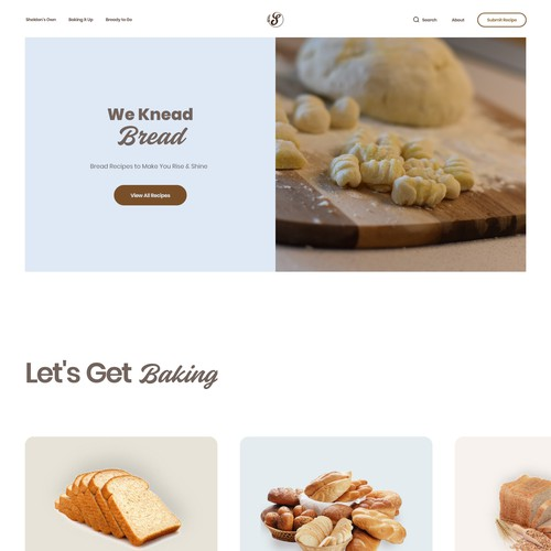 Colorful, Elegant Landing Page UI Design