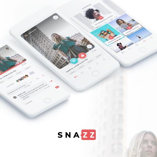 Clean fashion mobile app