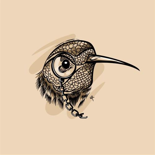 no teks, hummingbird