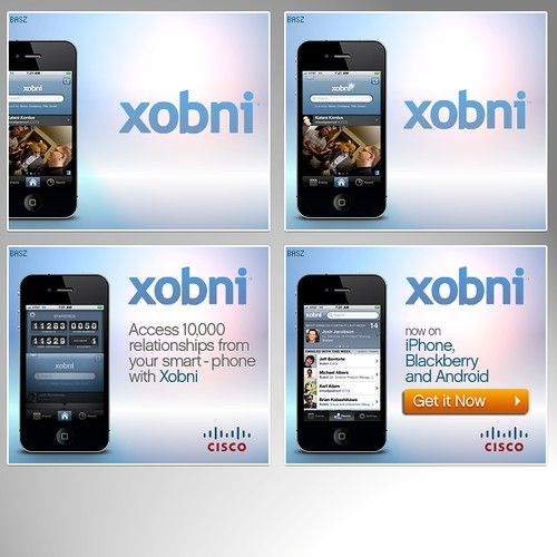 Xobni Corp animated flash banners
