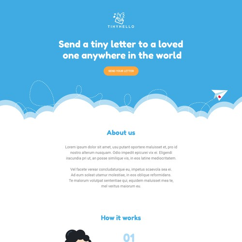 Cute & Fun Basic Landing Page