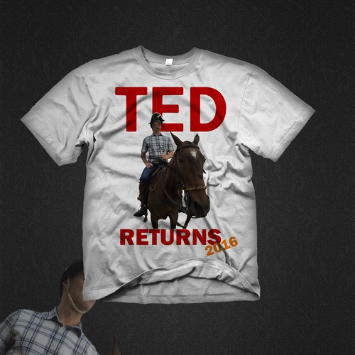 T-Shirt Ted Returns