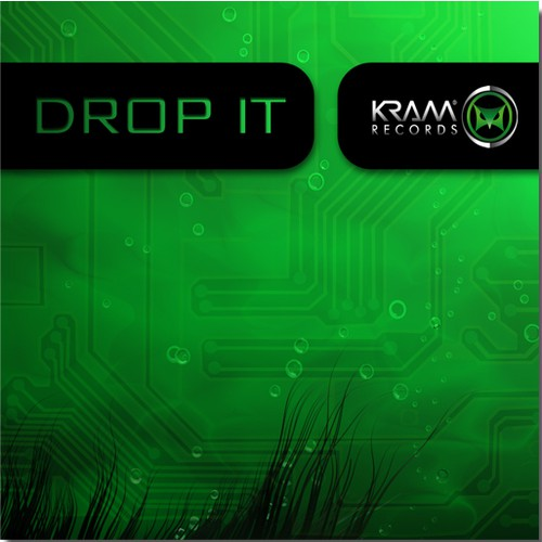Create the next illustration for Kram Records