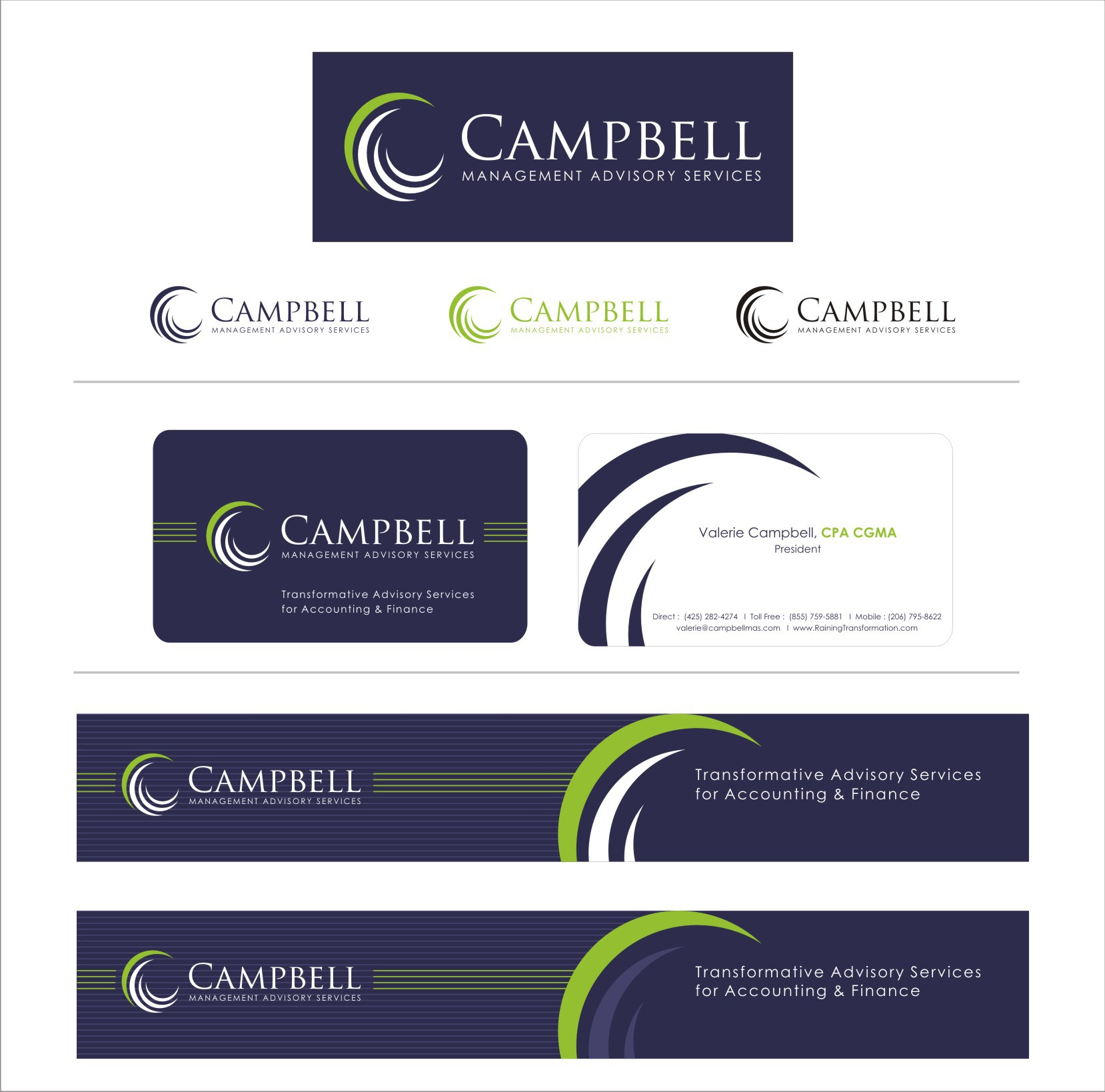 Campbell Management Advisory Services Seeking Transformative Consulting Logo (Get your design credit on my website)