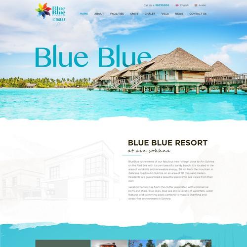Minimal Real Estate Website Design