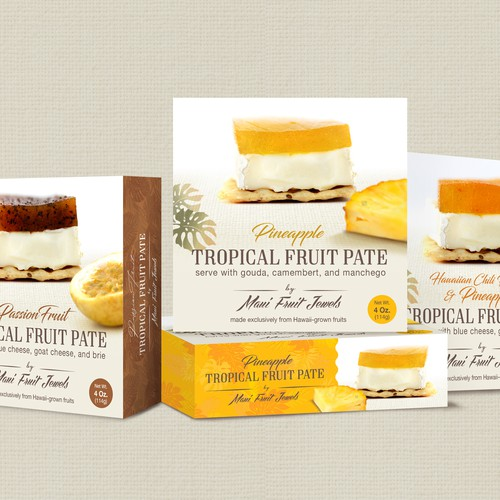 Tropical Fruit Pate