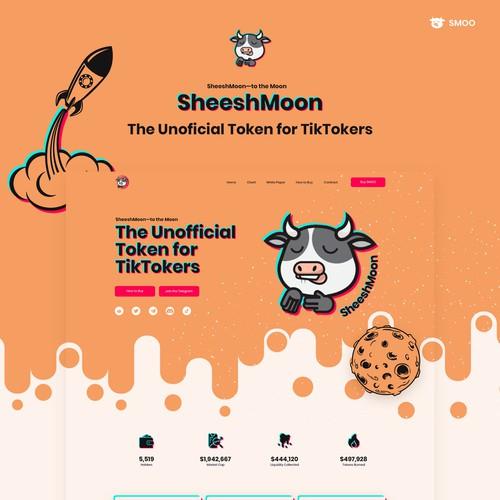 SheeshMoon Website redesign