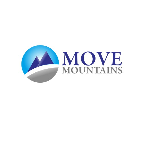 move mountains and create our logo