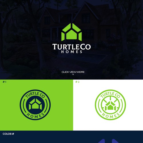 Logo Homes Turtle