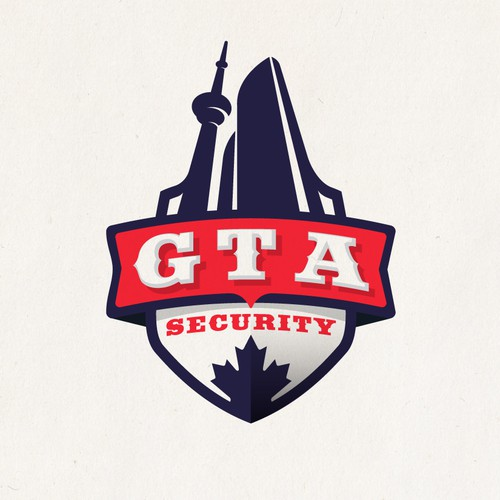 Logo for Toronto City security firm! GTA (Greater Toronto Area)
