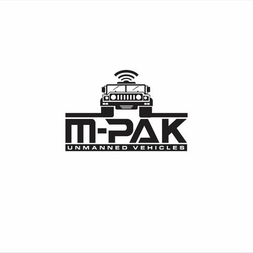 Logo design for M-Pak
