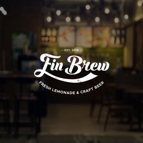 Logo Concept for FinBrew