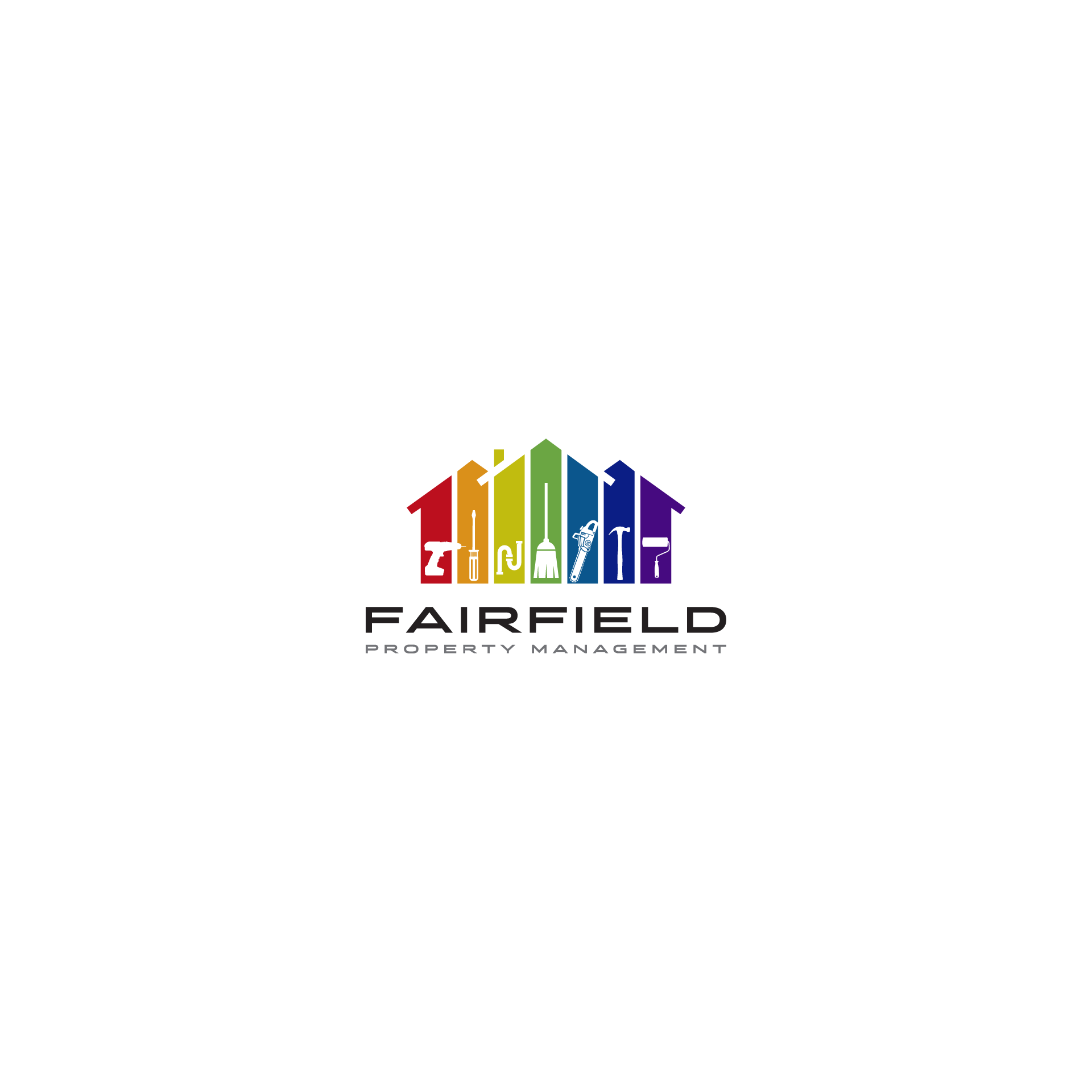 Logo for high service property mgmt company in highly touristed mountain resort area