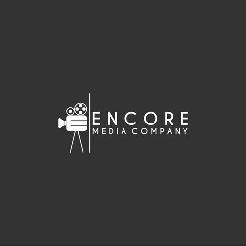 Design a simple, sleek, modern logo for Encore Media Company