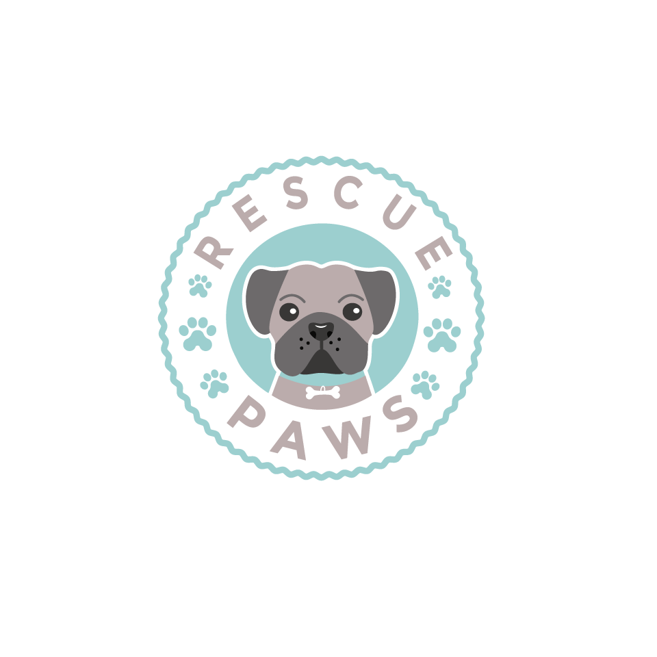 Create captivating, friendly and playful logo for Rescue Paws. A socially responsible subscrptn service