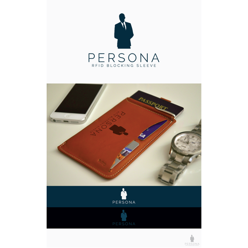 "Create a logo for ""Persona,"" A Secret Agent inspired security brand."