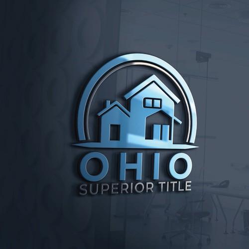Ohio Superior Title real estate logo design