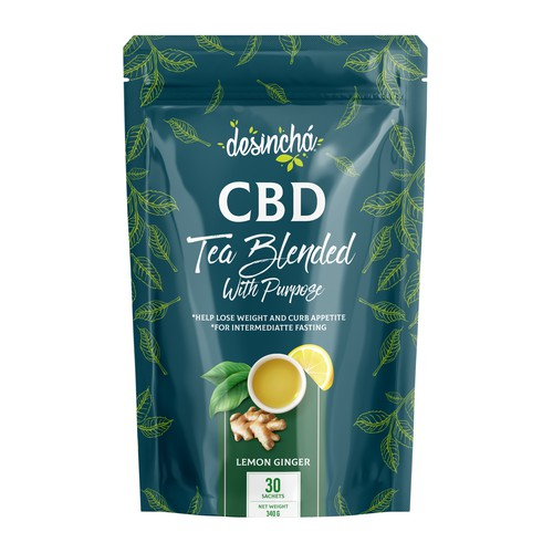 CBD TEA BLENDED WITH PURPOSE